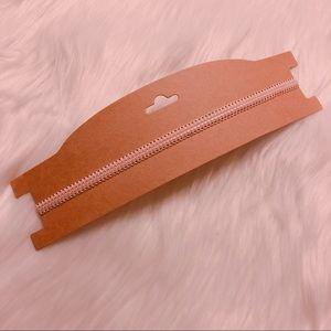 🌸2/$10 New Pink Lace Choker